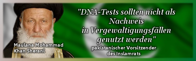 Pakistan: Bloß keine DNA-Tests